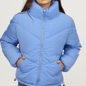 H&M Light Blue Padded Jacket